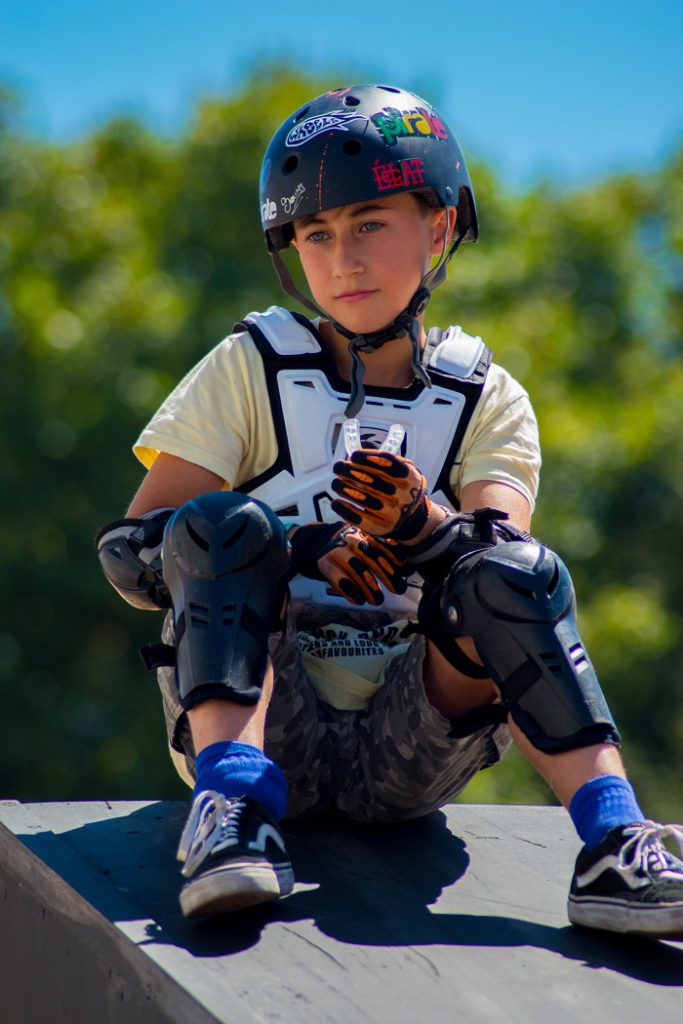 Safety gear for riding