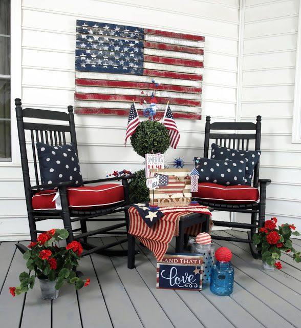 Decorate home for the 4th of July