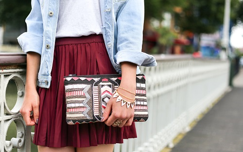 clutch bag for fall