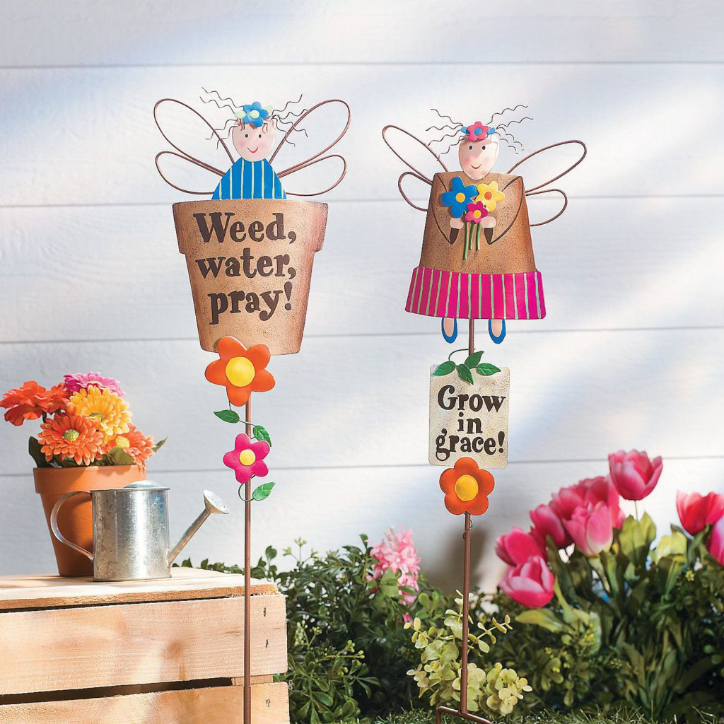 Terry's Village Garden Décor Will Help You Dress Up Your Yard
