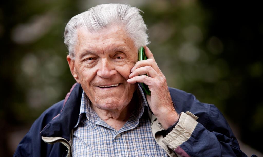 Best Cell Phones for Visually Impaired Seniors