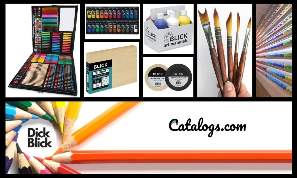 Dick Blick Art Materials Free Catalog