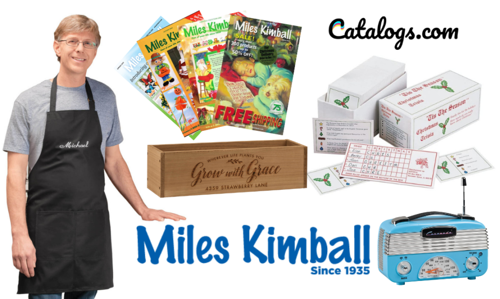 How do I request the 2021 Miles Kimball Catalog?
